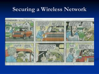 Securing a Wireless Network