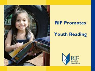 RIF Promotes  Youth Reading