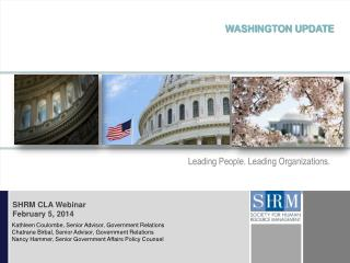Leading People. Leading Organizations.