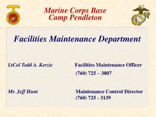 Marine Corps Base Camp Pendleton