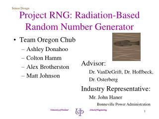 Project RNG: Radiation-Based Random Number Generator