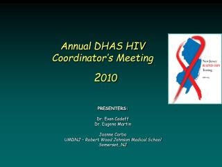 Annual DHAS HIV Coordinator's Meeting 2 010