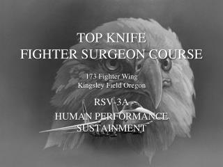 TOP KNIFE FIGHTER SURGEON COURSE