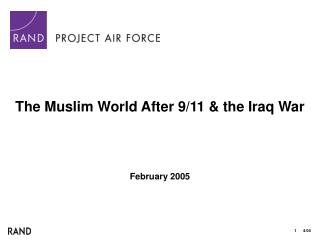 The Muslim World After 9/11 & the Iraq War