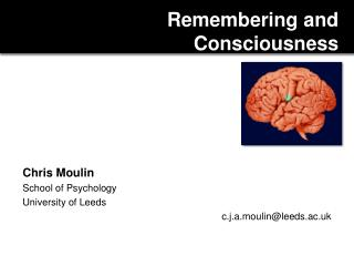 Remembering and Consciousness