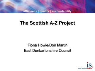 The Scottish A-Z Project