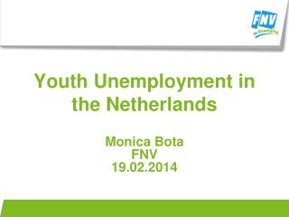 Youth Unemployment in the Netherlands