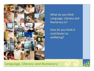 Language, Literacy and Numeracy