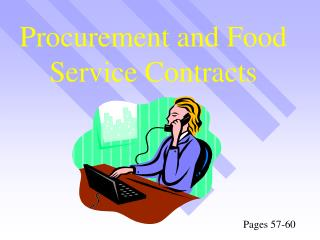 Procurement and Food Service Contracts