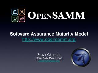 Software Assurance Maturity Model opensamm