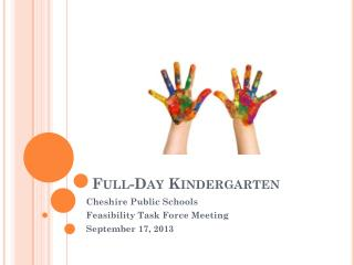 Full-Day Kindergarten