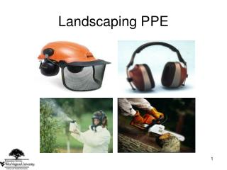 Landscaping PPE
