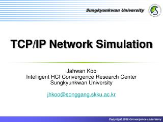 TCP/IP Network Simulation