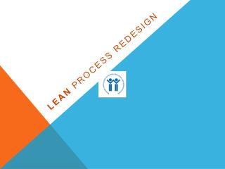 LEAn  Process redesign