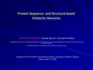 Protein Sequence- and Structure-based  Similarity Networks