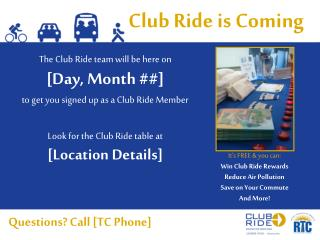 Club Ride is Coming
