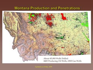 Montana Production and Penetrations