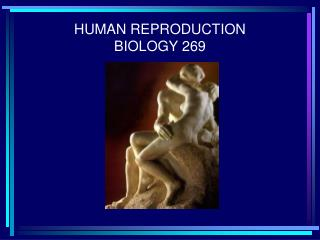 HUMAN REPRODUCTION BIOLOGY 269