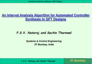 An Interval Analysis Algorithm for Automated Controller Synthesis in QFT Designs