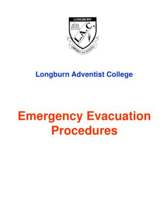 Emergency Evacuation Procedures