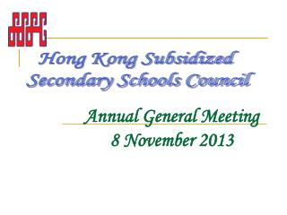 Annual General Meeting 8 November 2013