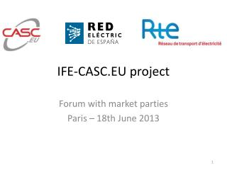 IFE-CASC.EU project