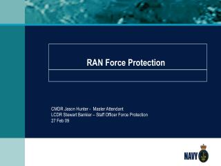 RAN Force Protection