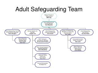 Adult Safeguarding Team