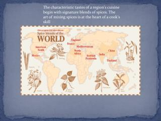 WORLD SPICE BLENDS