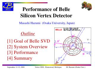 Performance of Belle Silicon Vertex Detector