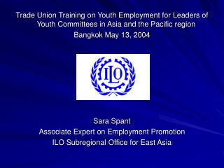 Policies and Strategies for  Youth Employment