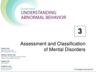 Psychiatric Classification