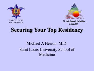 Securing Your Top Residency