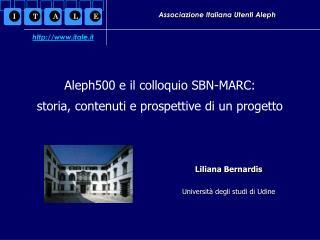 Associazione Italiana Utenti Aleph