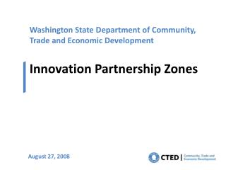 Washington State Department of Community, Trade and Economic Development