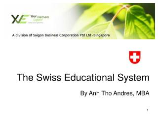 The Swiss Educational System