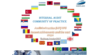 Audit-in-Practice ( AiP ) WG Recent achivements and the next steps T ashkent , October 2017