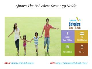 Ajnara The Belvedere 3 and 4 BHK