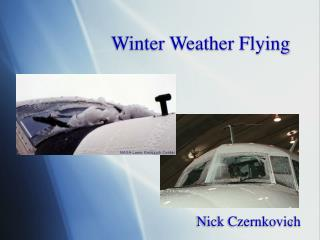 Winter Weather Flying