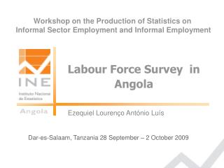 Labour Force Survey  in Angola