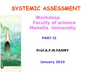 SYSTEMIC ASSESSMENT