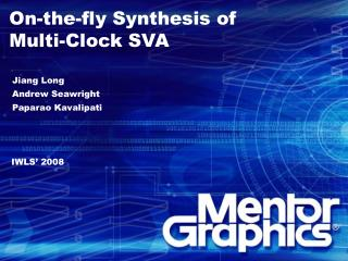 On-the-fly Synthesis of  Multi-Clock SVA