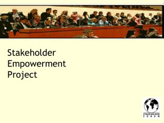 Stakeholder  Empowerment  Project