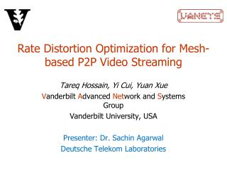 Rate Distortion Optimization for Mesh-based P2P Video Streaming