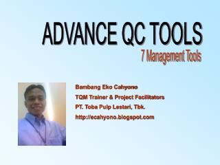 ADVANCE QC TOOLS
