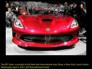 New York revs up for auto show
