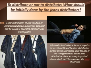 Sell Jeans Distributors | Jeans Distributors For Sale | Jean
