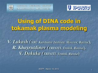 Common description of  DINA  code