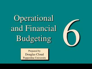 Operational and Financial Budgeting