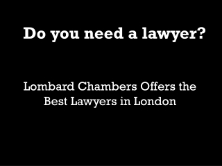 Barristers London
